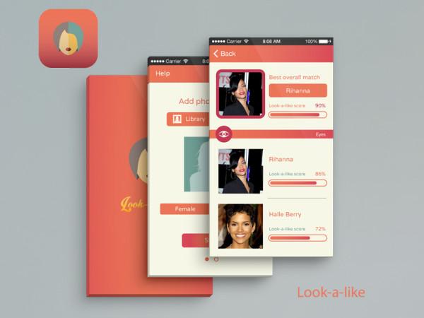 look alike ios app